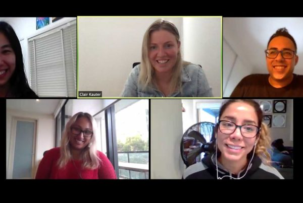 NORTH Foundation Team on Zoom